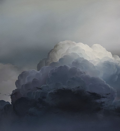 IAN FISHER, ATMOSPHERE NO. 101 (SOLD) oil on canvas