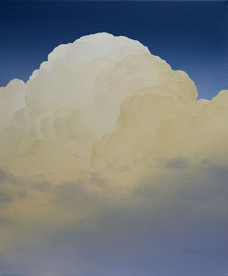 IAN FISHER, ATMOSPHERE NO. 97 (SOLD) oil on canvas