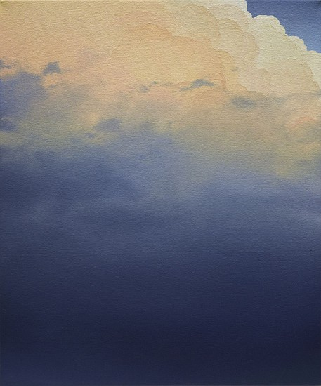 IAN FISHER, ATMOSPHERE NO. 96 (SOLD) oil on canvas