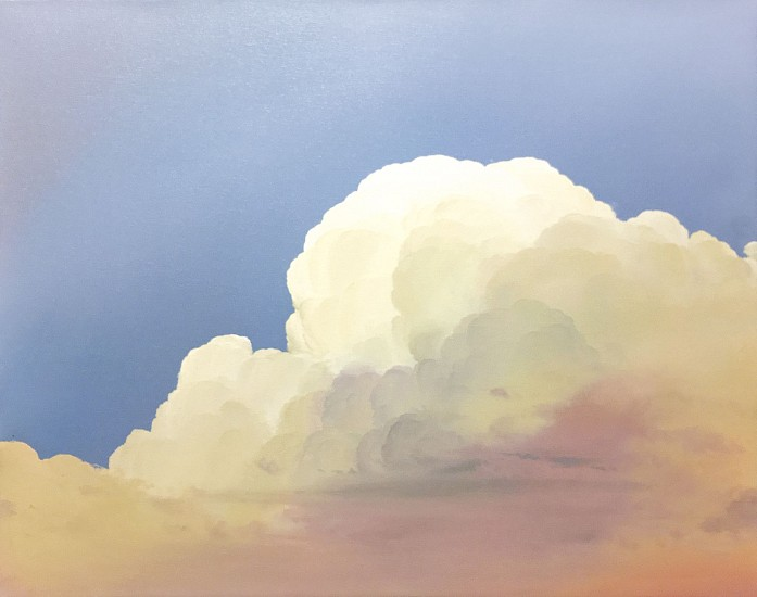 IAN FISHER, ATMOSPHERE NO. 87 (SOLD) oil on canvas