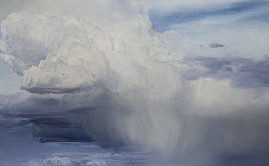 IAN FISHER, ATMOSPHERE NO. 115 oil on canvas