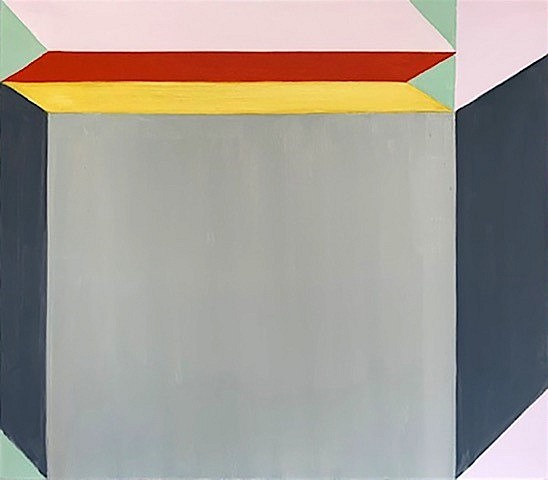 BETTY MERKEN, WRAPAROUND oil on canvas