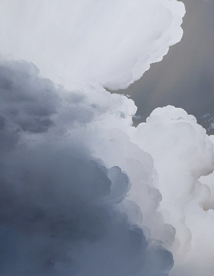 IAN FISHER, ATMOSPHERE NO. 118 oil on canvas