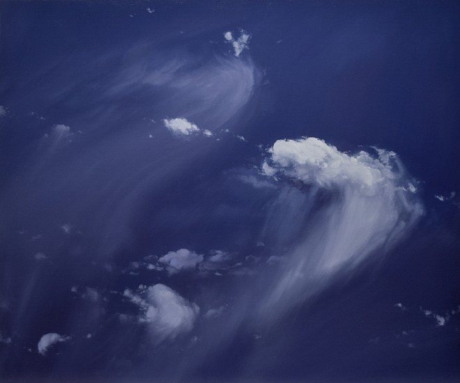 IAN FISHER, ATMOSPHERE NO. 116 oil on canvas