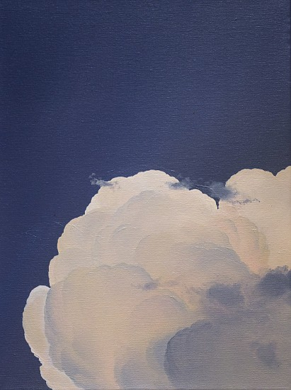 IAN FISHER, UNTITLED (STUDY) oil on canvas