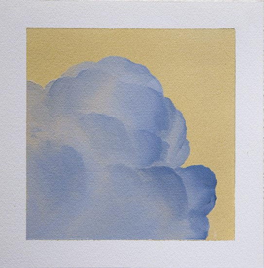 IAN FISHER, CLOUD STUDY 20 oil on paper